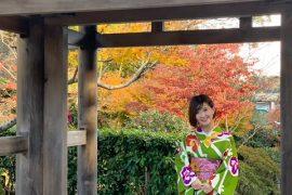着物で鎌倉散歩👘
